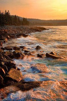 Acadia National Park, near Bar Harbor, Maine