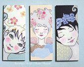 3 cute magnets - Gift set