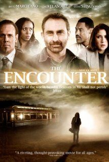 The Encounter (2010). RATED 6.8.  Five strangers with nothing in common are forced to come together at a remote roadside eatery because of a road closure. They place their orders with the diner's omniscient owner, who seems to know everything about them... and claims he is Jesus.