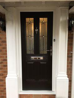 Rockdoor Jacobean Scorpio in Black #Rockdoor #verysecuredoors #rockdoors #compositedoor #door #frontdoor #composite #doors