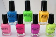 Color Club WICKED SWEET Nail Polish Collection Swatches & Review - Blushing Noir