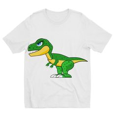 Kids' short-sleeved T-shirt with fun all-over print. As with all sublimation printed garments, please expect some variation in artwork placement, as well as light creasing in the seams. Printed, Medium, Fit, Green, Artwork, Mens Tops, T Shirt, Products, Supreme T Shirt