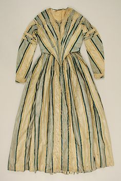 Dress Date: ca. 1842 Culture: European Medium: silk Accession Number: C.I.38.23.8