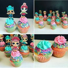 9 Benefits Of How To Make Cupcake Frosting Without Mixer That May Change Your Perspective Doll Birthday Cake, Birthday Cupcakes, 6th Birthday Parties, 8th Birthday, Birthday Ideas, Cupcake Party, Cupcake Cakes, Cupcake Dolls, Surprise Cake