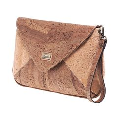 Clutch «Envelope» aus Kork von Montado online kaufen in der Schweiz Clutch, Fashion Outfits, Bags, Accessories, Vegan Handbags, Notebook Bag, Pocket Wallet, Switzerland, Handmade