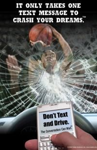 Your #dreams and hard work could come crumbling down in a moment of weakness when #texting and #driving.