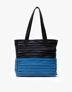 7bb0530e30 Collina Strada   Bottega Bag in Black and Blue