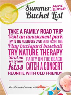 Latest news, videos & guest interviews from the today show on nbc. make your own summer bucket list Summer Fun, Summer Time, Backyard Baseball, Beach Bucket, Summer Bucket Lists, Today Show, Summer Pictures, Family Road Trips, Make It Yourself