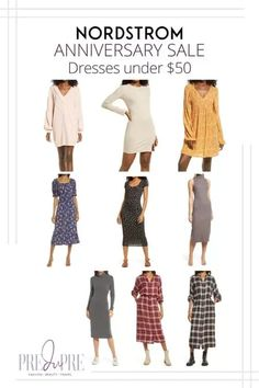 Great finds at the Nordstrom Anniversary Sale. I've rounded up my top picks in dresses under $50. Hot Summer Outfits, Fall Outfits, Warm Weather Outfits, Nordstrom Anniversary Sale, Weekend Wear, Get Dressed, Dresses For Sale, Outfit Of The Day, Winter Fashion