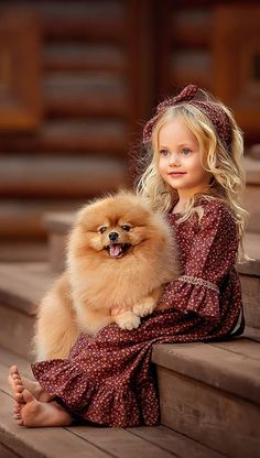 Very beautiful photos and pictures 🍒 beautiful photo â . Animals For Kids, Cute Baby Animals, Kids And Pets, Beautiful Children, Beautiful Babies, Foto Fantasy, Belle Photo, Kids And Parenting, Kids Fashion