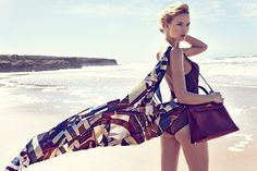 Adriana Cernanova Hits the Beach for Elle Czech May 2013 by Branislav Simoncik | Fashion Gone Rogue: The Latest in Editorials and Campaigns
