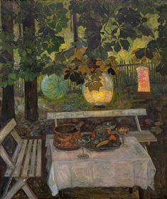 """huariqueje: """" Still Life ( The paper lanterns ) - Thorolf Holmboe 1907 Norwegian """" Image Collage, Art And Craft Design, Grain Of Sand, Edgar Degas, Windy Day, Paper Lanterns, Claude Monet, Winter Scenes, Art Images"""