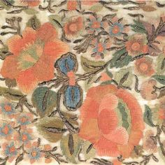 ❤❤❤ Copyrights unknown. Turkish fabric, 18th century.
