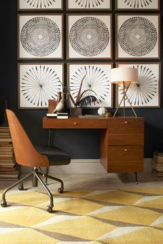 Style Your Place Like A Home Catalog — All The Tricks #refinery29  http://www.refinery29.com/2014/07/70895/west-elm-fall-2014-collection#slide-9  Note the way patterns play off one other, here.