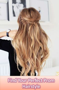 You will get here 15 amazing prom hairstyles for your beautiful hair to look yourself best in the entire prom night. Find The best prom Hairstyle for you.