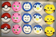 Pokemon cupcakes | Robin Schantz | Flickr