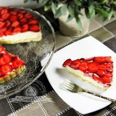 Tarta z truskawkami | Świat Ciasta
