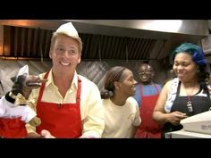 If you need a big ol' belly laugh....Jack McBrayer & Triumph Visit Chicago's Weiner's Circle - CONAN on TBS