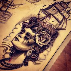 Just found this design by Andre Rodrigues. Awesome work there. Brazilian Tattoo Scene. #tattoo #tattoos #ink