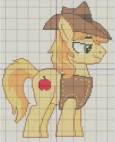 Buzy Bobbins: Braeburn - My Little Pony Cross stitch design
