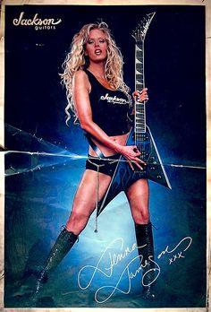 Jenna Jameson / Jackson Guitars