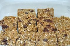 Homemade Granola Bars - Amish Recipes Oasis Newsfeatures
