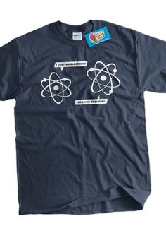 Lost Electron Screen Printed TShirt Tee Shirt T by IceCreamTees aaba60e3caa