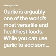 Garlic is arguably one of the world's most versatile and healthiest foods. While you can use garlic to add some serious flavor to any dish, garlic also has quite the long list of health benefits as well. That's why we're here to break down how you can benefit from these major remedies and how you …