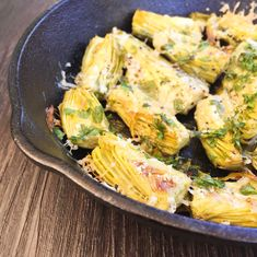 Baby Artichokes with Parmesan