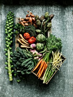 Seasonal bounty-Green fruits and veggies prevent cancer. They are also good for the circulatory system and have good vitamin B and minerals. The vitamin K in green foods also helps with vision, and with maintaining strong bones and teeth. Some of the yellower green veggies help to prevent cataracts and eye disease, as well as osteoporosis.