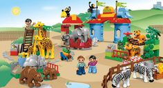 #LegoDuploParty 5635 Big City Zoo.. Having fun with Duplos and learning names of animals is always a fun learning game for the little ones.