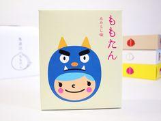 岡山のかわいいおみやげ「ももたん」を買ってみました (追記:とうきょう/クリスマス) - KAWACOLLE #design #shop #package #japanese #japan Kids Packaging, Brand Packaging, Packaging Design, Japan Branding, Kids Branding, Japanese Kids, Japanese Things, Japanese Style, Japanese Packaging