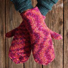 Helpot lapaset paksusta langasta | Meillä kotona Fingerless Gloves, Arm Warmers, Mittens, Knitting, Crafts, Fashion, Fingerless Mittens, Fingerless Mittens, Moda