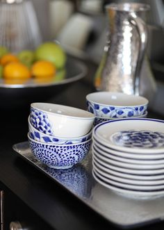 Beautiful new dishes just in from the famous pottery villages of Bat Trang, Vietnam. #handmade #fairtrade #pottery