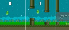 #AndroidWear gets #FlappyBird as Flopsy Droid