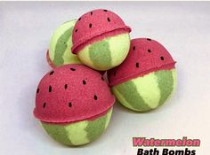Watermelon Bath Bomb fizzy foamy highly pigmented non-staining 5 sizes to choose from with Free Bath Bomb Recipes, Soap Recipes, Bath Boms, Diy Inspiration, Lush Bath, Bath Salts, Bath Fizzies, Soap Making, Bath And Body