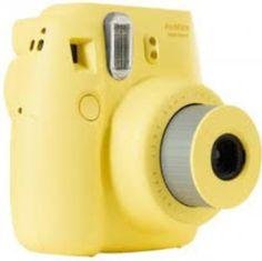Cámara instax mini 8 en amarillo