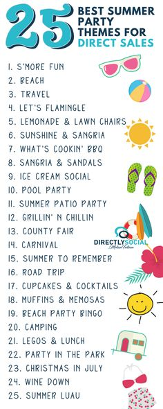 Best ideas for for all of your this summer! Direct Sales Games, Direct Sales Party, Summer Party Themes, Spring Party, Thirty One Party, Thirty One Gifts, Arbonne Party, Norwex Party, Pure Romance Party