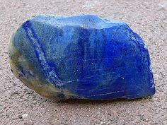 Lapis Lazuli stone 7 Beautiful Sky Blue Ounces of by FaesBlueMoon, $15.00