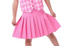 Girls Skirt Pattern with Skort Boutique by scientificseamstress, $9.95