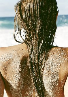 Sand on my back, salt in my hair, the sea at my feet. For MORE beach inspiration FOLLOW http://www.pinterest.com/happygolicky/beach-beach-beach-off-to-the-coastal-chic-cottage-/