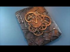 An awesome and simple, although time consuming, project to build, the Do it Yourself steampunk tablet case made totally out of craft foam. Please comment bel. Steampunk Desk, Steampunk Hat, Steampunk Necklace, Craft Foam, Foam Crafts, Stuff To Do, Cool Stuff, Altered Boxes, Ipad Tablet