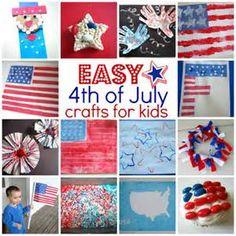 Easy of july crafts for kids kids crafts, summer crafts Summer Crafts, Holiday Crafts, Kids Crafts, Holiday Fun, Summer Fun, Easy Crafts, Summer School, Toddler Crafts, Summer Snacks