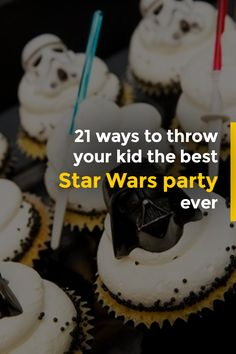 Has your little Jedi or Princess Leia asked for a Star Wars themed birthday party? We've got you covered! Here, you will find 20 ideas