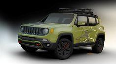 Mopar Jeep Renegade off-road Trailhawk