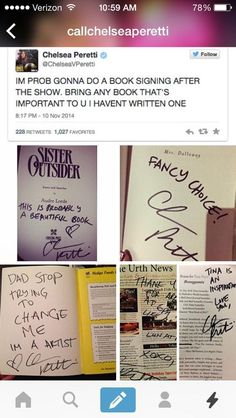 Chelsea Peretti Did A Book Signing Despite Not Having A Book