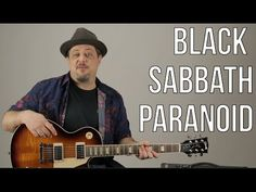 """How to Play """"Paranoid"""" by Black Sabbath on Guitar - Guitar Lesson - Ozzy - Metal - YouTube"""