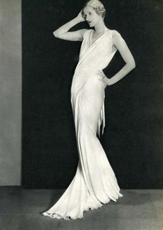 Man Ray  'Long White Dress'  1934.