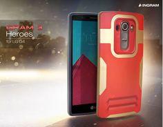 INGRAM GRAM3 HEROES SHOCK-ABSORBING CASE FOR LG G4