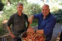 Nick's grandpa Steve's tomato sauce recipe : SBS Food Tomato Sauce Recipe, Homemade Tomato Sauce, Tomatoe Sauce, Vegetarian Recipes, Healthy Recipes, Savoury Recipes, Healthy Foods, Cooking Tips, Cooking Recipes